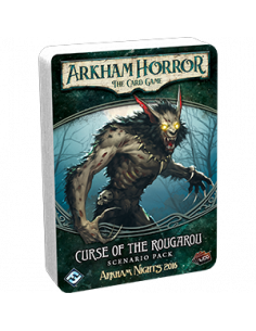 Arkham Horror Card Game Curse on Rougarou