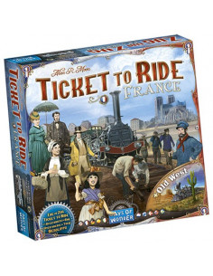 Ticket To Ride Map Coll. 6 France & Old West