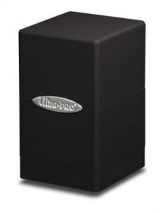 Deck Box Satin Tower Black