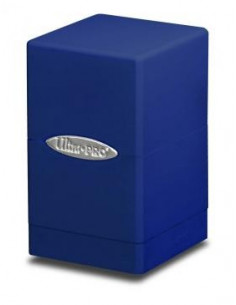 Deck Box Satin Tower Blue