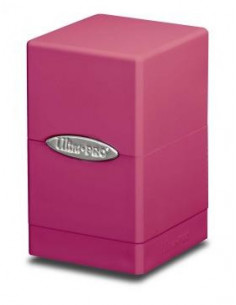Deck Box Satin Tower Bright Pink