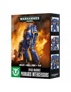 EASY TO BUILD SPACE MARINES PRIMARIS INTERCESSORS