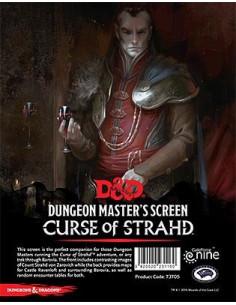 D&D Curse of Strahd Dungeon Master Screen