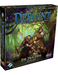 Descent 2nd Ed Trollfens Expansion