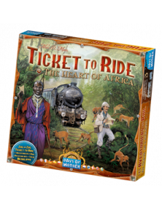 Ticket to Ride Map Coll. 3 Africa
