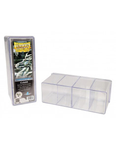 Dragon Shield Four Compartment Gaming Box Clear