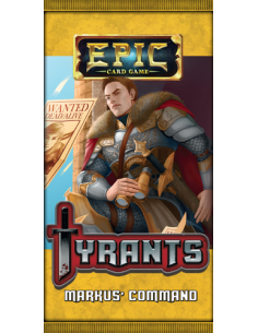 Epic Card Game Tyrants - Markus Command