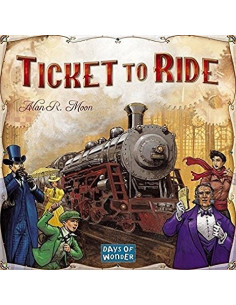 Ticket To Ride USA [Svenska Regler]