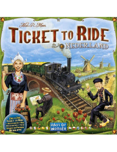 Ticket to Ride Map Coll. 4 Netherlands