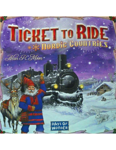 Ticket to Ride Nordic Countries (SE)