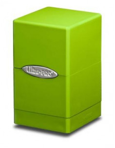 Deck Box Satin Tower Lime Green