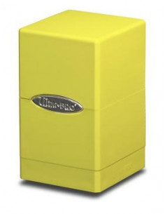 Deck Box Satin Tower Bright Yellow