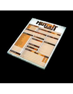 Mutant: År Noll Rollformulärblock