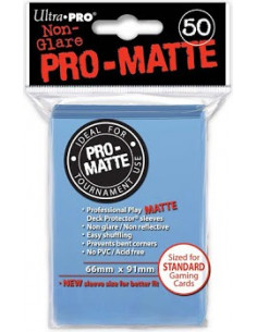 Card Sleeves Pro-Matte Light Blue