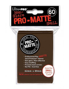 Card Sleeves Pro-Matte Brown