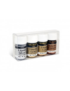 LIQUID GOLD SET 4x35 ml