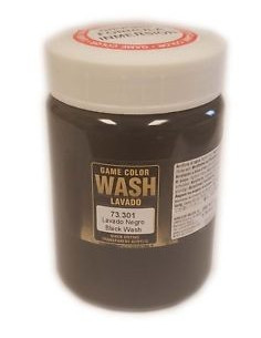 Wash 200ml Black