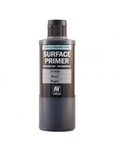 Primer Acrylic-Polyurethane 200ml. Black
