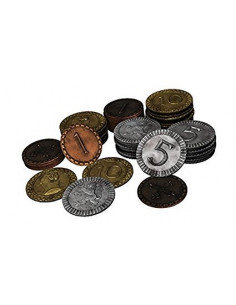 Clans of Caledonia Metal Coin Set