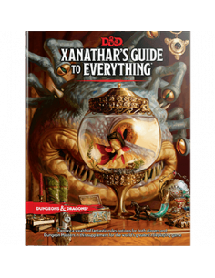 D&D 5th Ed. Xanatars Guide To Everything