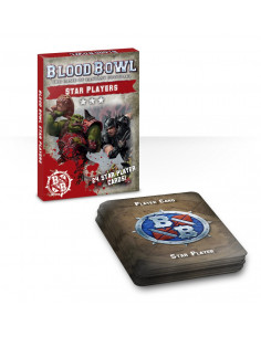BLOOD BOWL CARDS: STAR PLAYERS