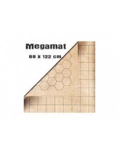 Mat Mega 1,5 Squares & Hexes Reversible