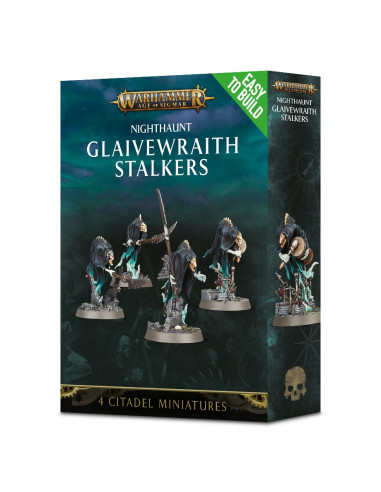 EASY TO BUILD NIGHTHAUNT GLAIVEWRAITH STALKERS