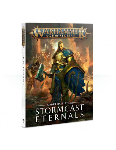 AGE OF SIGMAR BATTLETOME STORMCAST ETERNALS