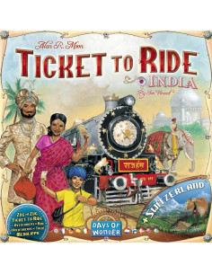 Ticket To Ride Map Coll. 2 India