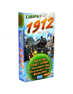 Ticket To Ride Europa 1912 Exp