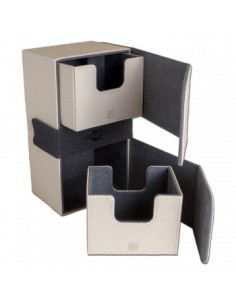 Blackfire Convertible Premium Deck Box Dual 200+ White