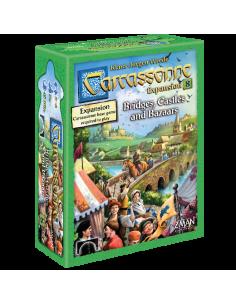 Carcassonne 8 Bridges, Castles, & Bazaars