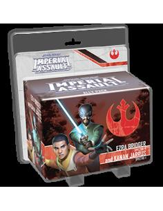 Star Wars Imperial Assault Ezra Bridger & Kanan Jarrus