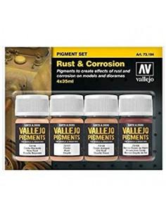Vallejo Rust & Corrosion Pigment Set (4x35ml)