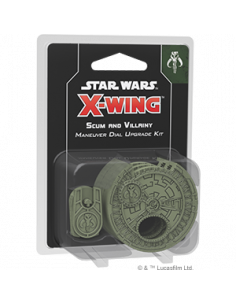 X-Wing 2.0 Scum & Villany Maneuver Dial Upgrade