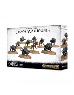 MONSTERS OF CHAOS CHAOS WARHOUNDS