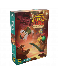 Meeple Circus The Wild Animal & Aerial Show Expansion
