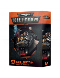 KILL TEAM COMMANDER GAIUS ACASTIAN
