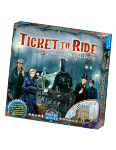 Ticket To Ride Map Coll. 5 UK & Pennsylvania