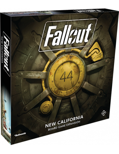 Fallout Boardgame New California Expansion