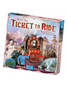 Ticket to Ride Map Coll. 1 Asia