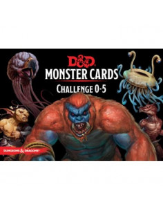Dungeons & Dragons 5th Edition Challenge 0-15 Monster Cards