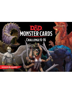 Dungeons & Dragons 5th Edition Challenge 6-10 Monster Cards