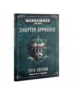 WARHAMMER 40.000 CHAPTER APPROVED (2018)
