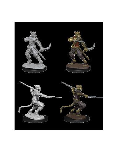 D&D Nolzur´s Miniatures Male Tabaxi Rogue
