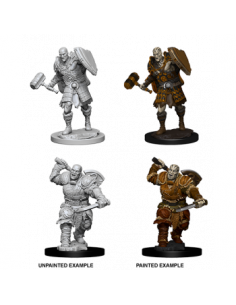 D&D Nolzur´s Miniatures Male Goliath Fighter
