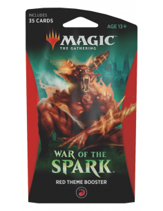 Magic War of the Spark Theme Boster Red