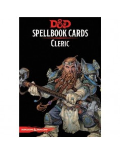 D&D 5th Ed. Cleric Spell Deck