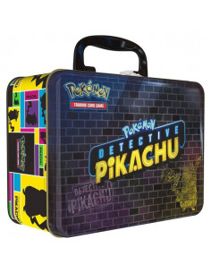 Poke Tin CF Detective Picatchu Collectors Chest
