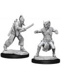 D&D Nolzur´s Miniatures Male Human Monk